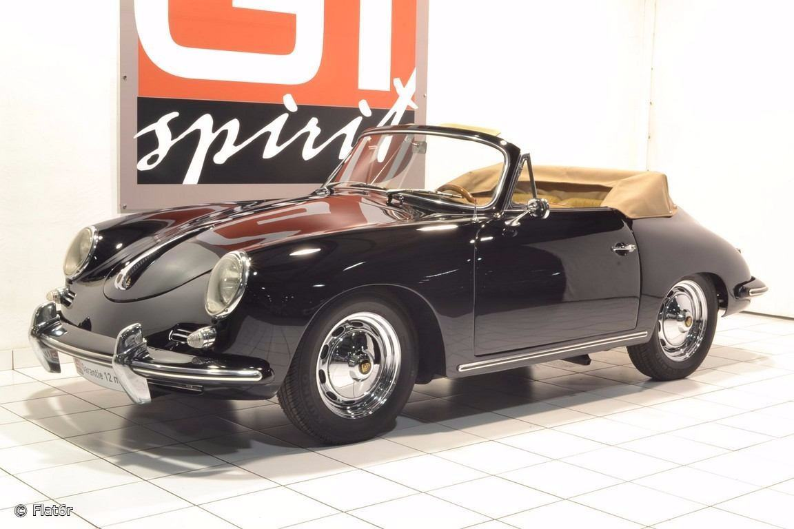porsche d occasion 356 b 1600 cabriolet t5 1960 61 vendre. Black Bedroom Furniture Sets. Home Design Ideas