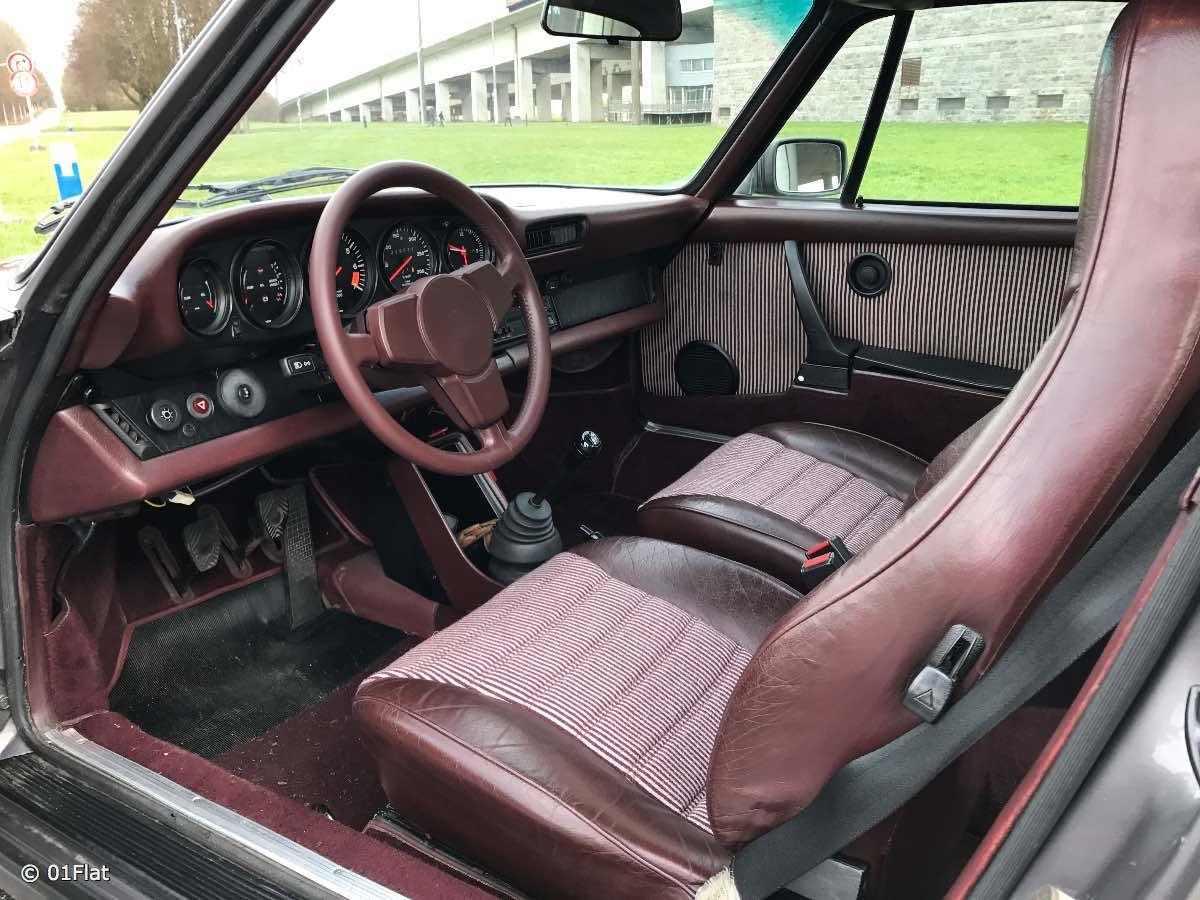 Porsche d occasion 911 911 3 0 sc 1981 83 vendre for Interieur 911 sc