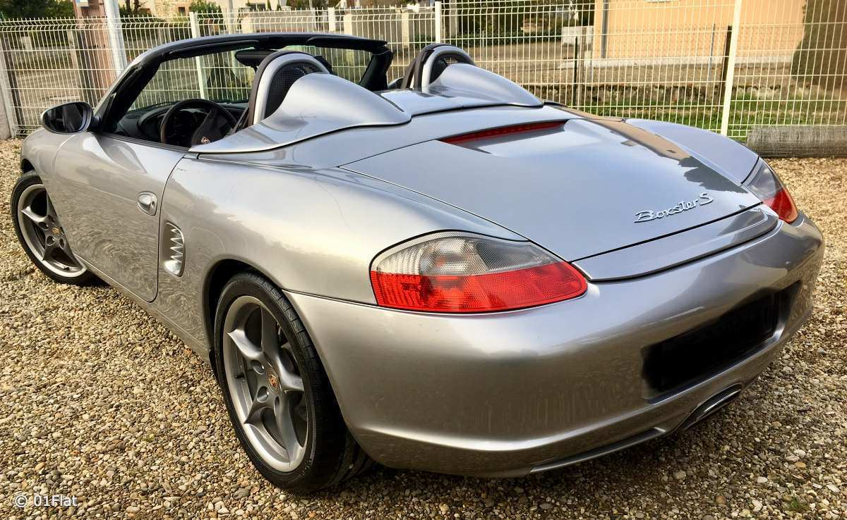 porsche d occasion boxster 986 s 260ch 2003 04 vendre. Black Bedroom Furniture Sets. Home Design Ideas